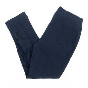 Chico's Pants So Slimming Pleated Blue Sz 00 27x25